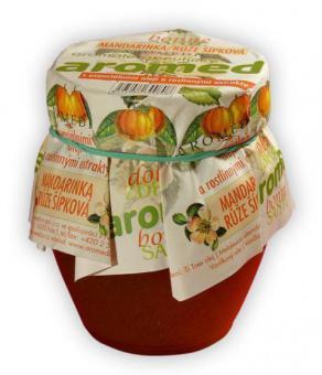 Aromaterapeutický med - TTree, mandarinka, vanilka, šípková růže - 250 g
