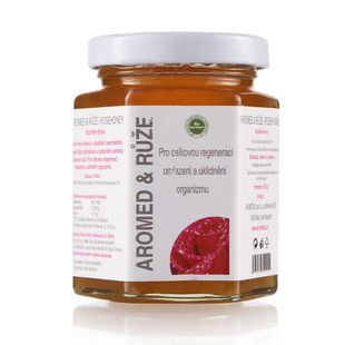 Aromaterapeutický med - růže - 250 g