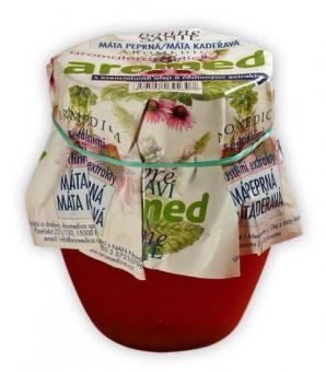 Aromaterapeutický med - máta kadeřavá, máta peprná, echinacea - 250 g