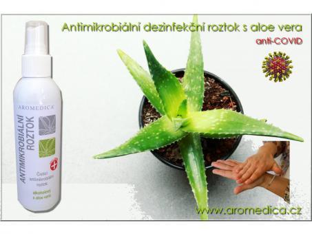 Antimikrobiální čisticí roztok s aloe vera 200 ml